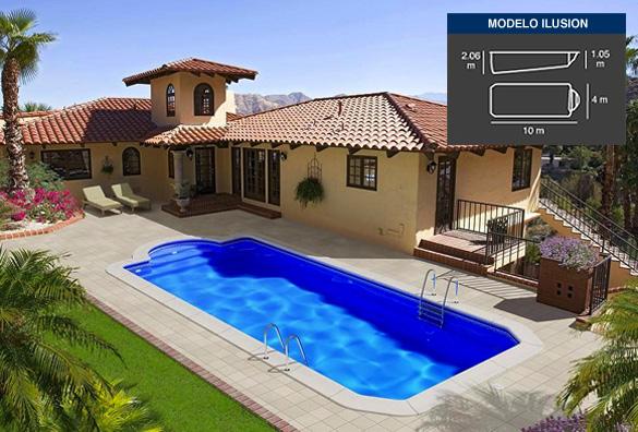 32 piscinas de poliester a elegir piscinas coinpol for Piscinas de poliester precios