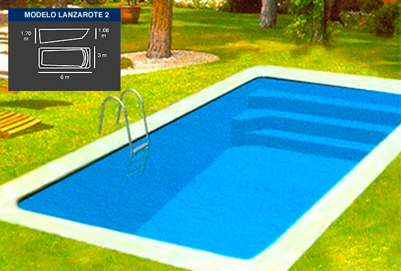 Lanzarote 2 piscinas coinpol for Ver modelos de piscinas
