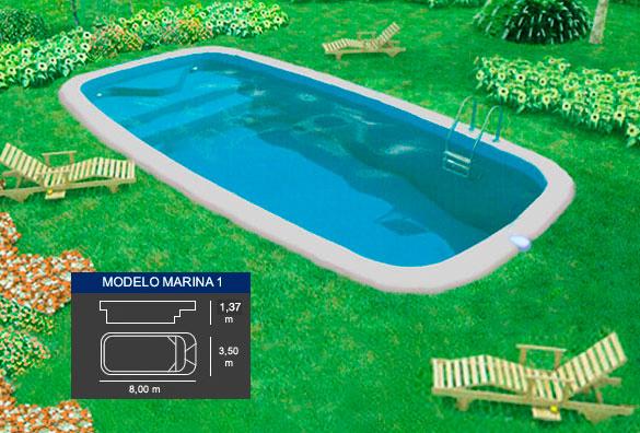Marina 1 piscinas coinpol for Piscinas coinpol