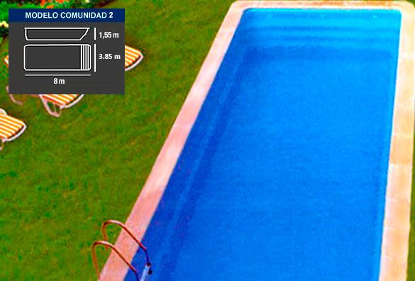 Comunidad 2 piscinas coinpol for Piscinas coinpol