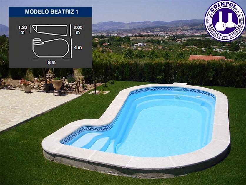 Venta de piscinas de poliester 26